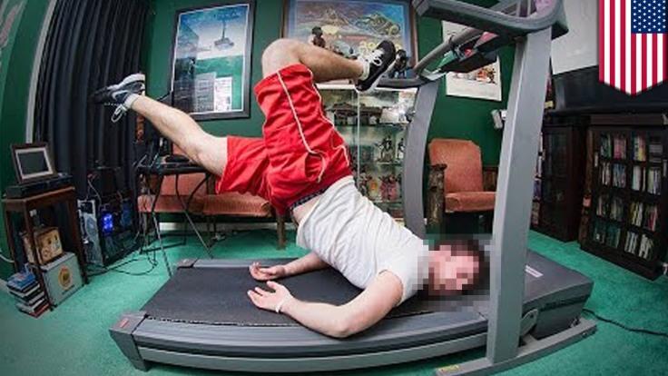 treadmill funny